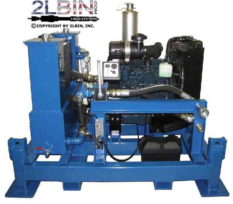 35 HP Diesel Hydraulic Power Pack