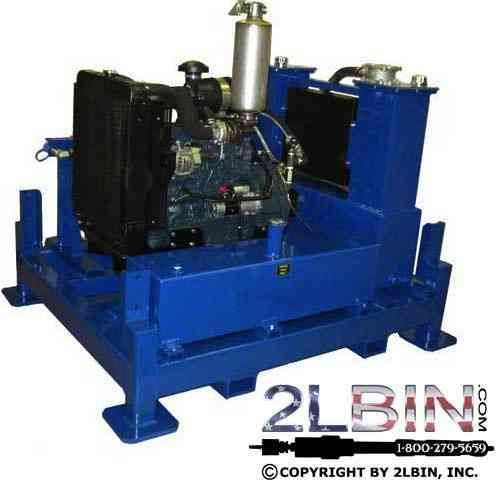 85 HP Diesel Hydraulic Power Pack