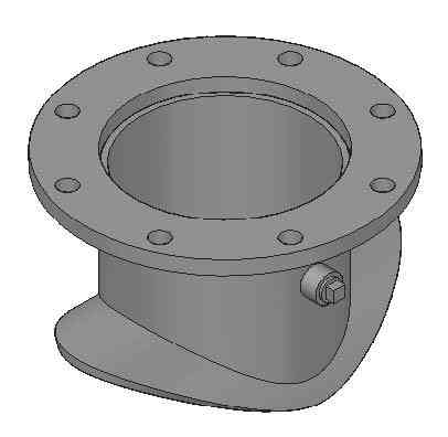 416 Type 4 Hat Flange