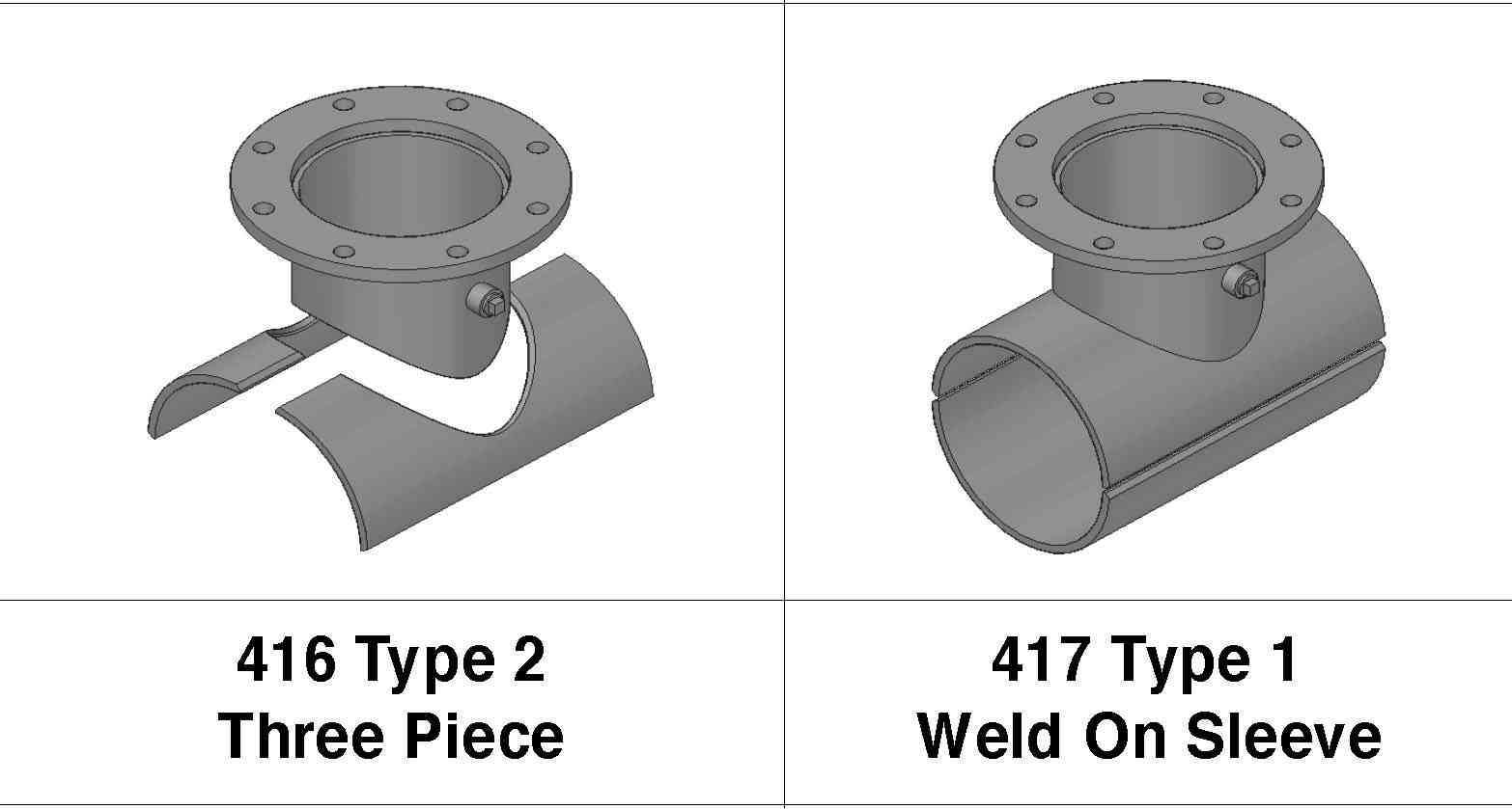 2-3 Piece Split Weld Fitting Free Quote