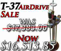 T-37AirDrive Hot Tapping Machine Sale