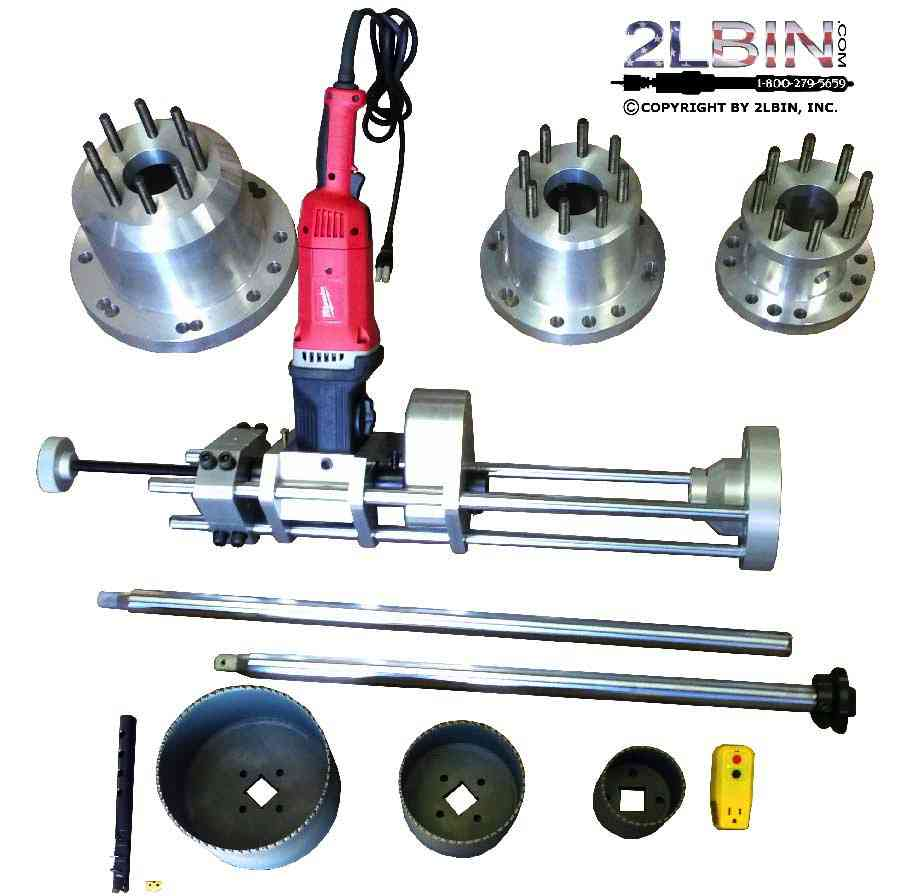 T1-8 Tapping Machine Complete Package