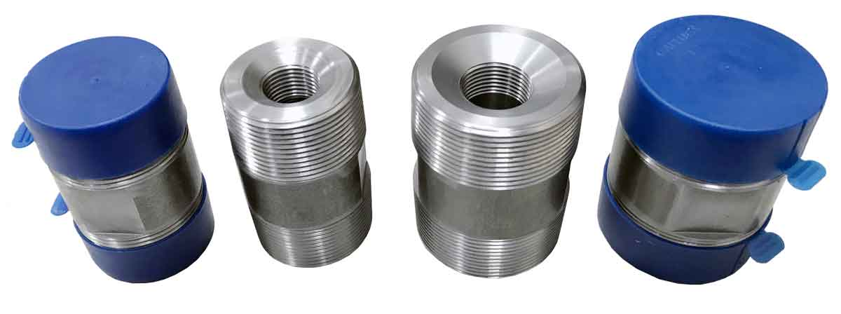 Thermolets are carbon steel or stainless steel