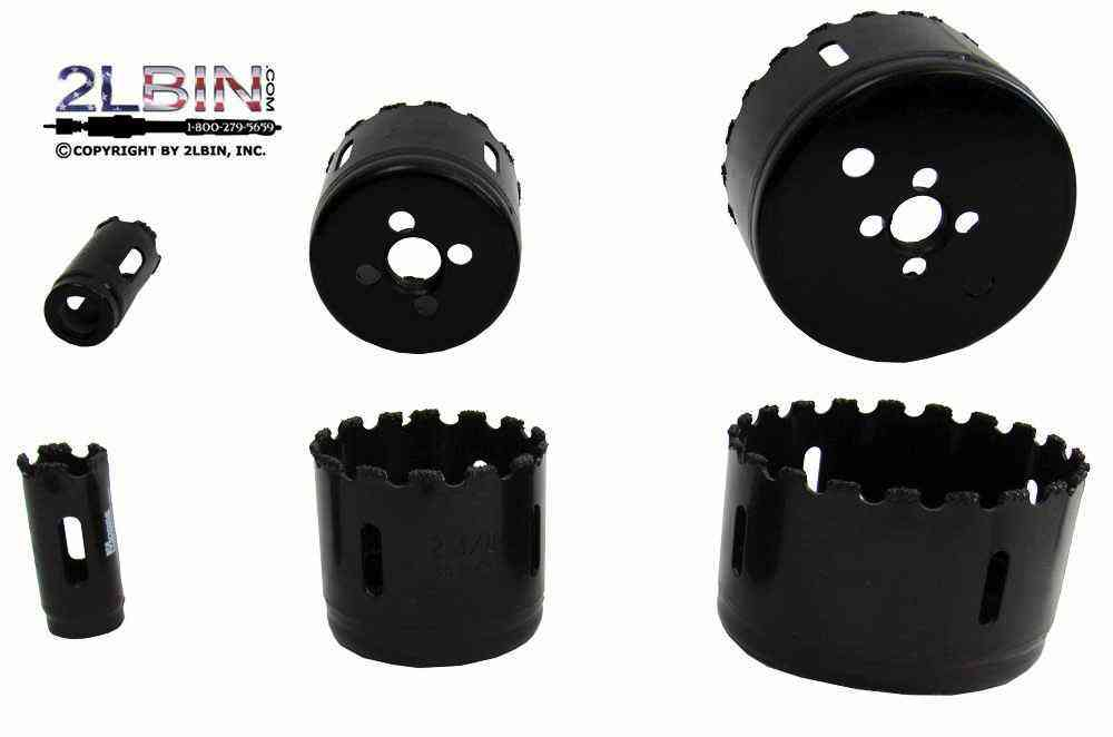 Tungsten Carbide Grit Hole Saw Cutters for Abrasive Pipe