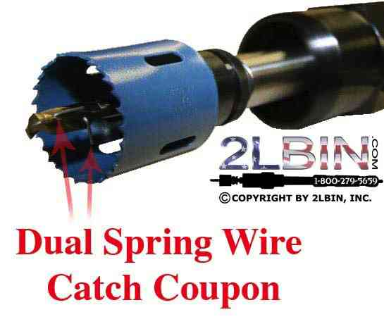 Dual Spring Wire Catches Coupon