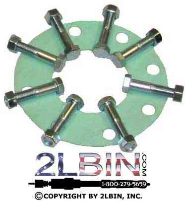 Adaptor 4 Inch Flanged Bolt Kit